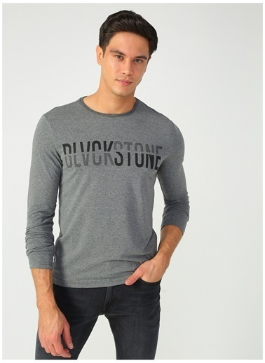 Limon Company Limon Antrasit Melanj Erkek T-Shirt Antrasit